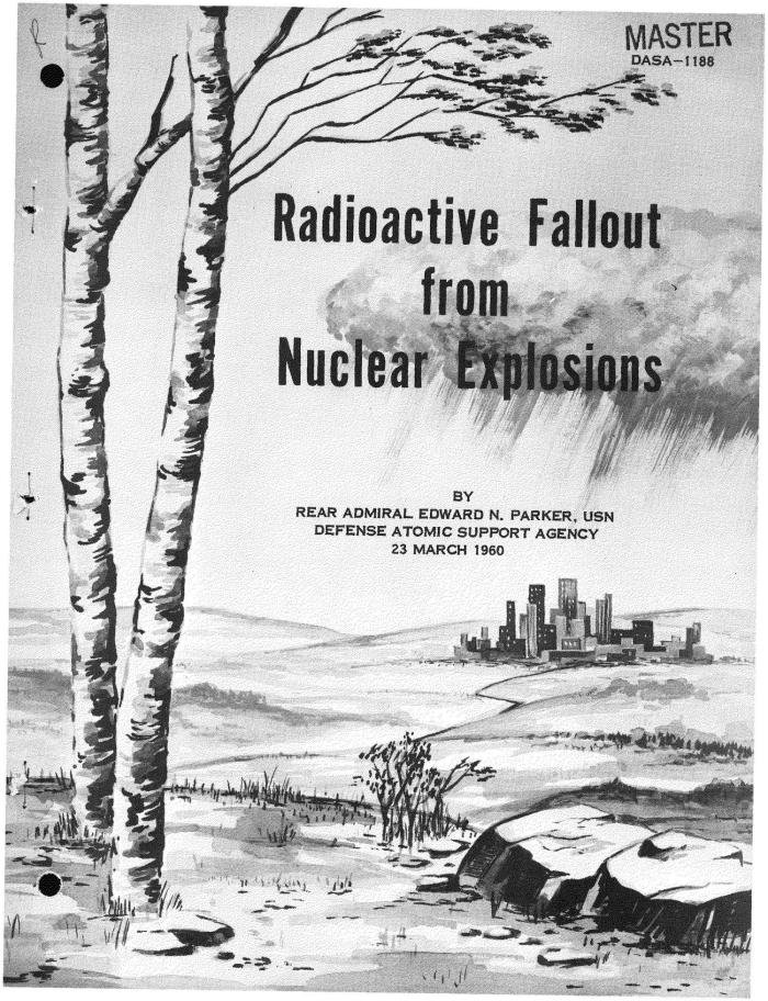 Radioactive Fallout from Nuclear Explosions
